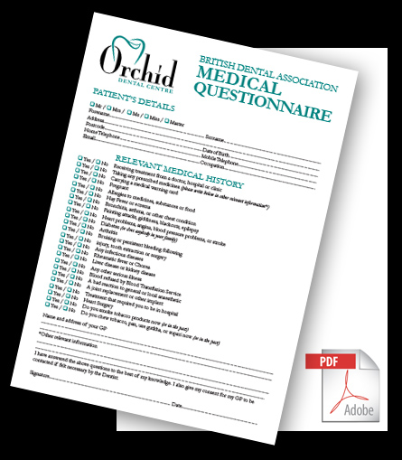 Medical Questionnaire